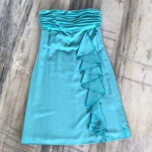 Gianni Bini Tiffany Blue strapless dress